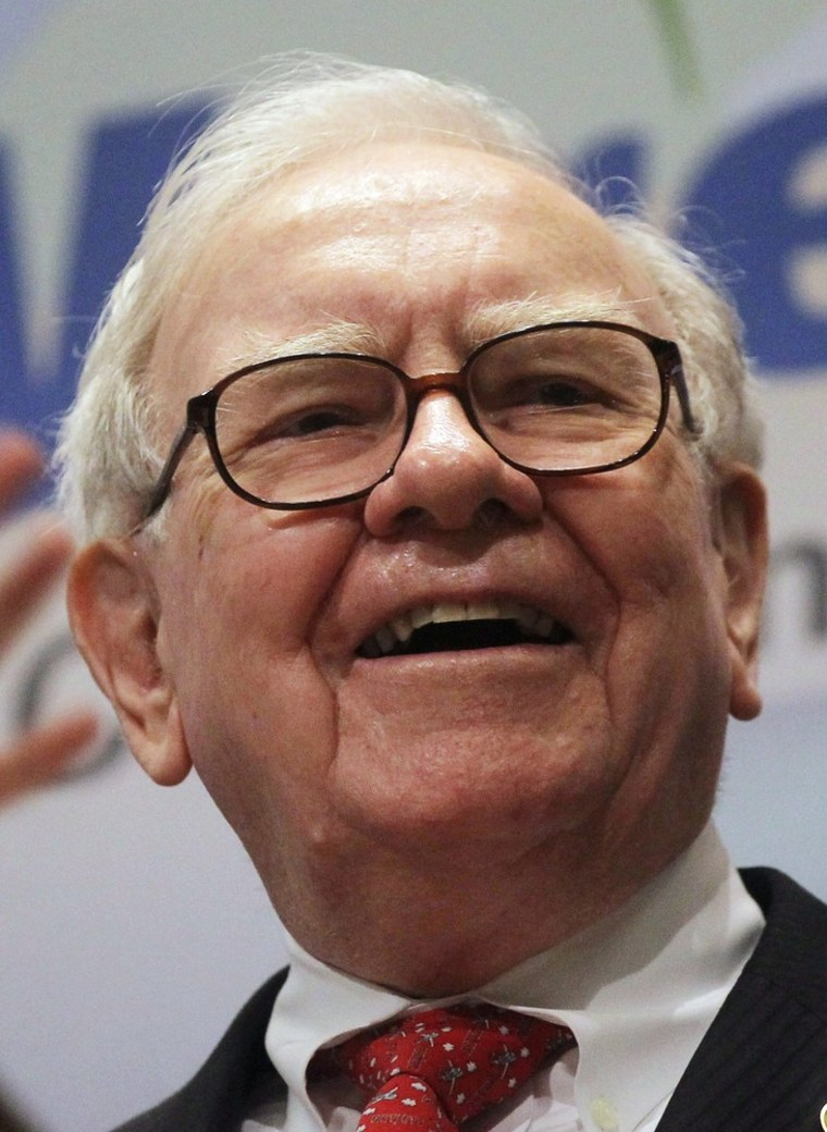 Warren Buffett smiles at the New York Stock Exchange before ringing the opening bell on Sept. 30, 2011. The Bufett rule was inspired by his call to tax the rich more.