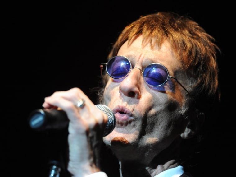 Robin Gibb in 2011.
