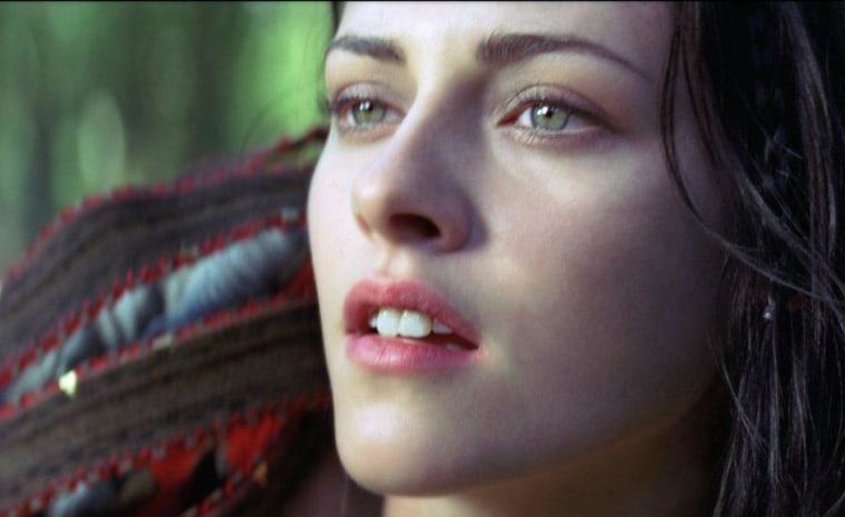 Kristen Stewart, star of Snow White and the Huntsman, embodies the fairy tale's aesthetic. She's certainly had practice, playing a vampire in the Twilight saga series.