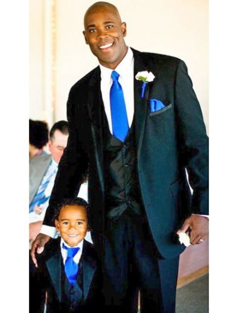 Marcus Brian Freeman II, from Charlotte, North Carolina, was the winner in the Hottest Dad Over 40 category.