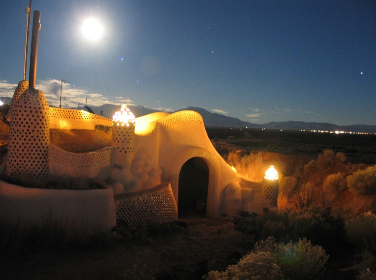 Before we abandon Earth for another planet, it'd be useful to test out the potential new digs. The Earthship Project in Tres Piedras, New Mexico, has been at it since the 1960s and in 1997 began allowing guests to sleep in its sustainable pods (for periods of less than an eternity).