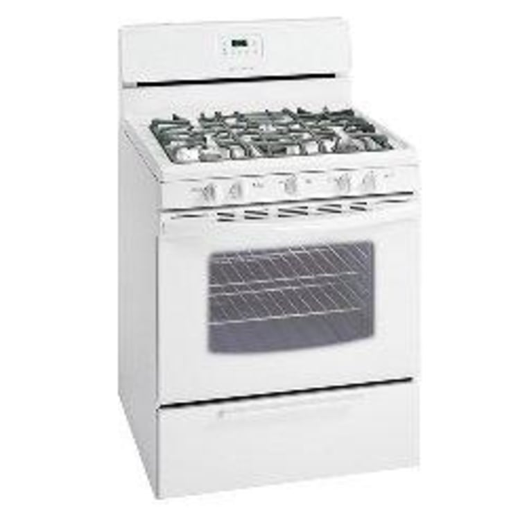 The Frigidaire FGF348KS stands out among low-cost ranges with its fifth burner.