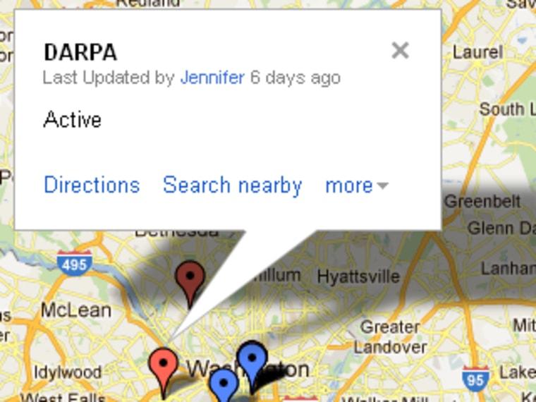 Drone operators around Washington, DC