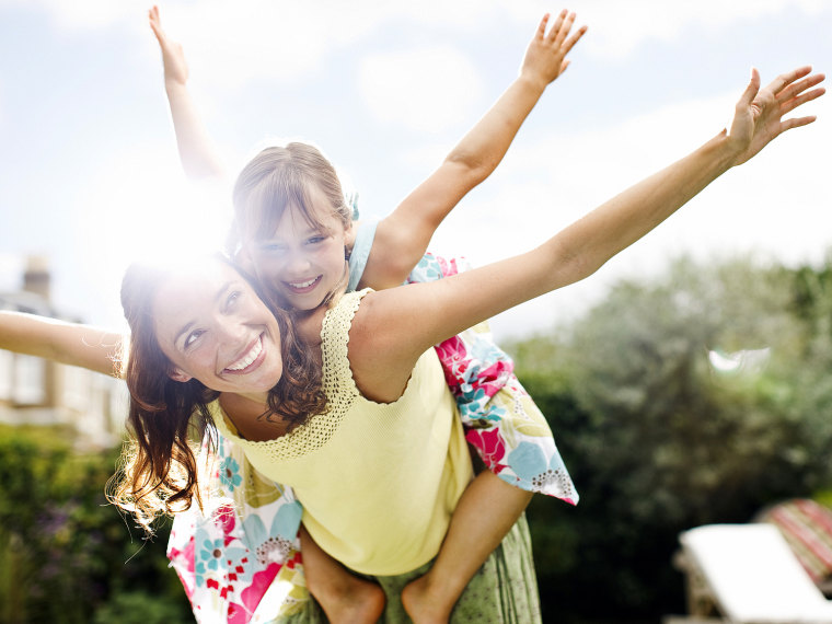 Hey mom, you're the wind beneath my wings. Tell us about your mom hero in our contest.