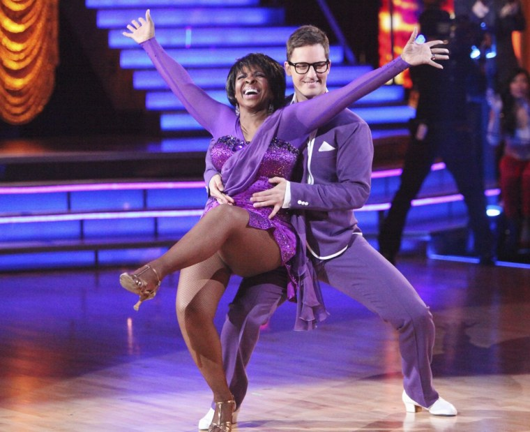 Despite delivering a graceful jive in the Dance Duel, Gladys Knight and partner Tristan MacManus were eliminated on Tuesday.