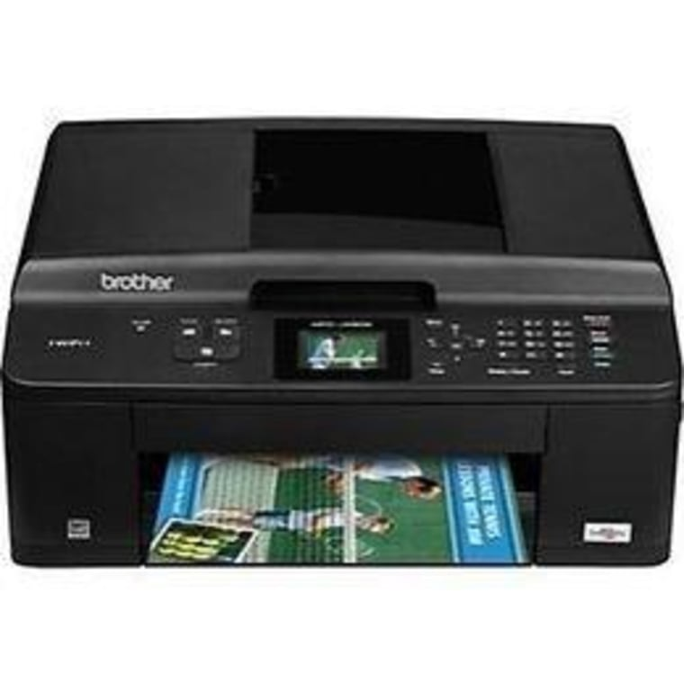 The all-in-one Brother MFC-J430w is a combination printer/scanner/copier/fax.