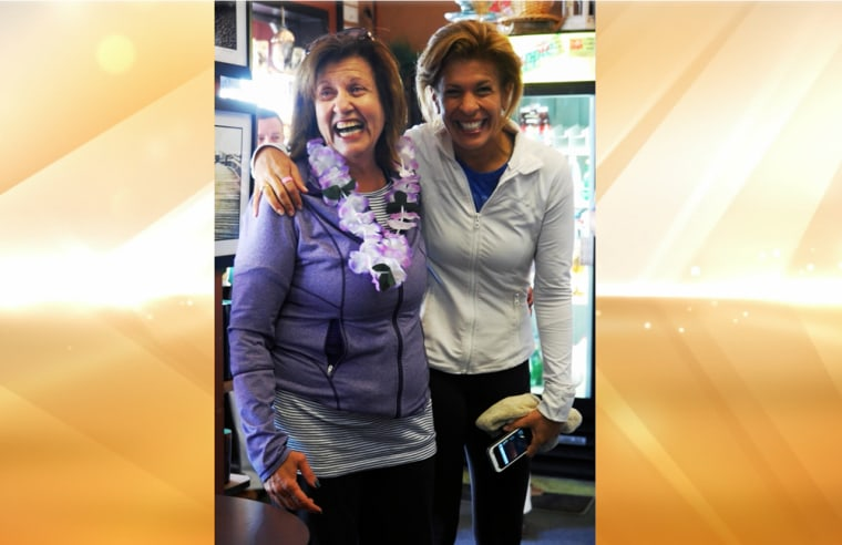 Hoda with her mom -- and mom hero -- Sami.