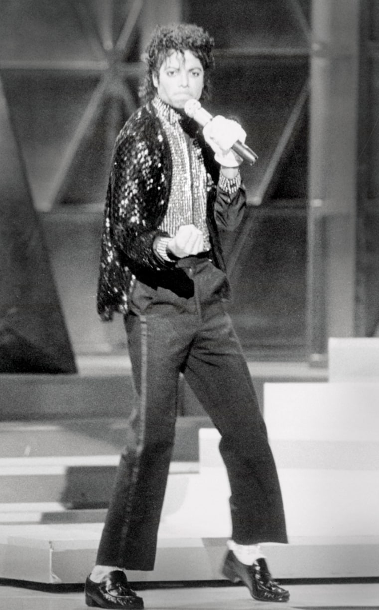 Michael Jackson performed the moonwalk for the first time on television on