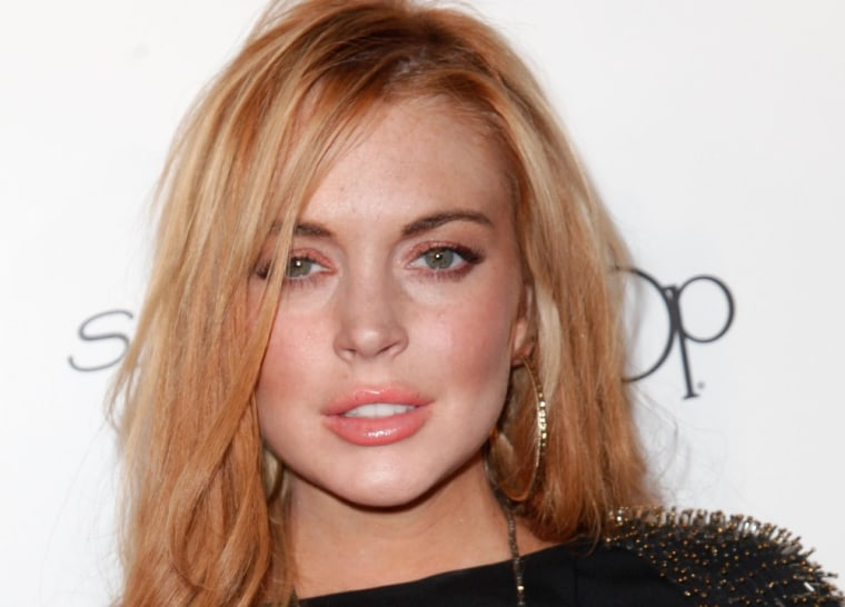 """Glee"" sources say Lindsay was great filming a scene last week, but that things didn't go as smoothly on Wednesday."
