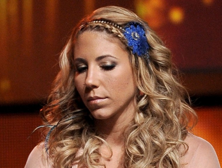 "Elise Testone was eliminated from \""Idol\"" on April 26."