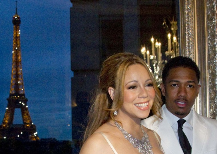 Mariah Carey and Nick Cannon renewed their vows on April 27 in Paris.
