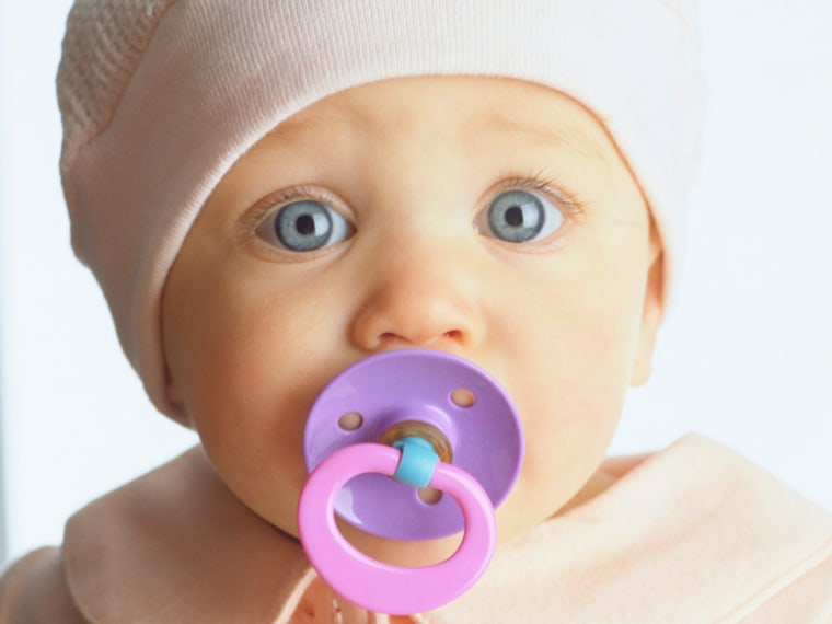 Don't ban the binky! New research finds that pacifiers may encourage breast-feeding.