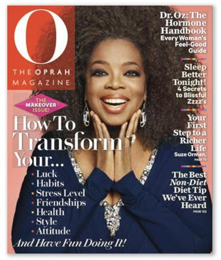 Hairy situation? Oprah revealed her natural hair on the latest cover of O, The Oprah Magazine, but some have criticized the 'do, saying it's not authentic.