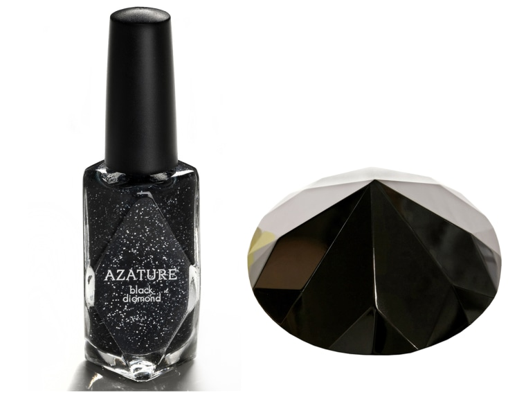 Feel like splurging? You can spend your life savings on the new $250,000 Azature nail polish, made with real black diamonds.