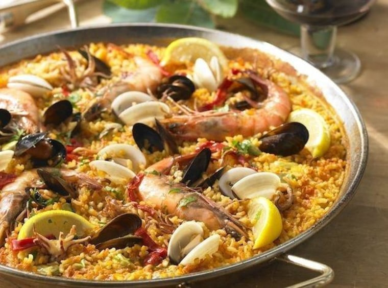 What goes into a classic paella is the subject of much heated debate.