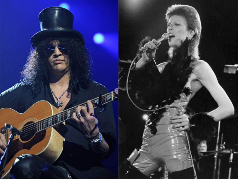 Slash Once Caught His Mom Naked with David Bowie