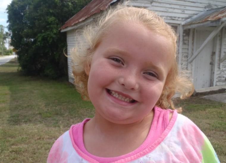 "Alana (Honey Boo Boo) of \""Here Comes Honey Boo Boo.\"""
