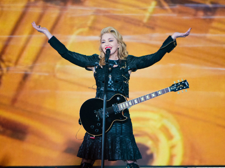 Madonna showed up two and a half hours late for her Philadelphia concert, only the latest headline-making goof for the Material Girl.