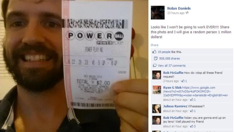 Powerball hoax