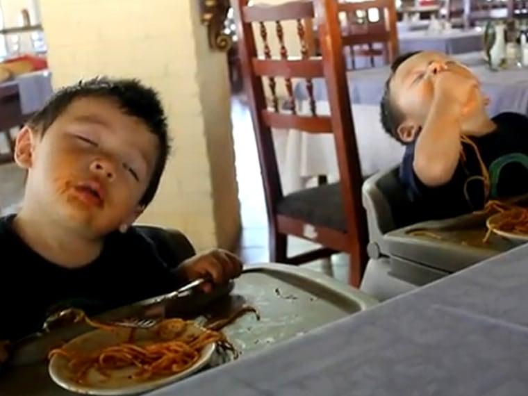 Image: Boys sleeping