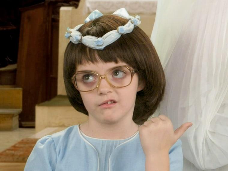 "Alice Zenobia Richmond as young Liz Lemon in ""30 Rock."""