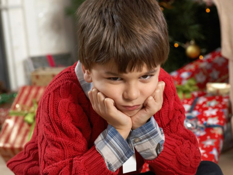 Spoiled kids can sure spoil the holidays.
