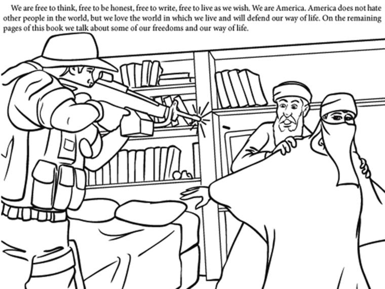 - 9-11 Coloring Book Draws Controversy