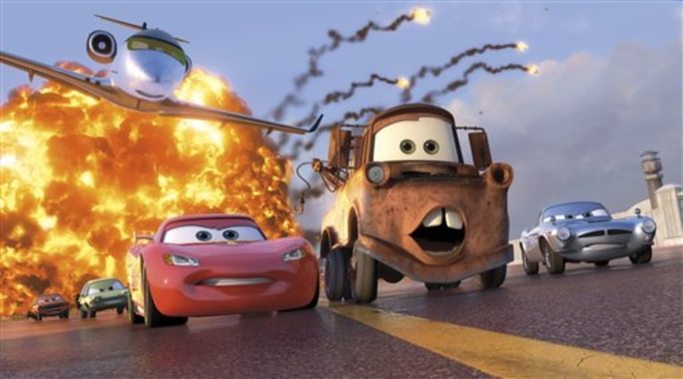 Many parents were surprised by some violent scenes in Cars 2.