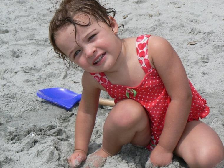 Sarah Elizabeth at Myrtle Beach .