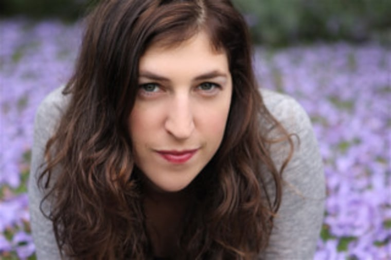 Mayim Bialik: Actress, neuroscientist, mom and now... TODAY Moms blogger!