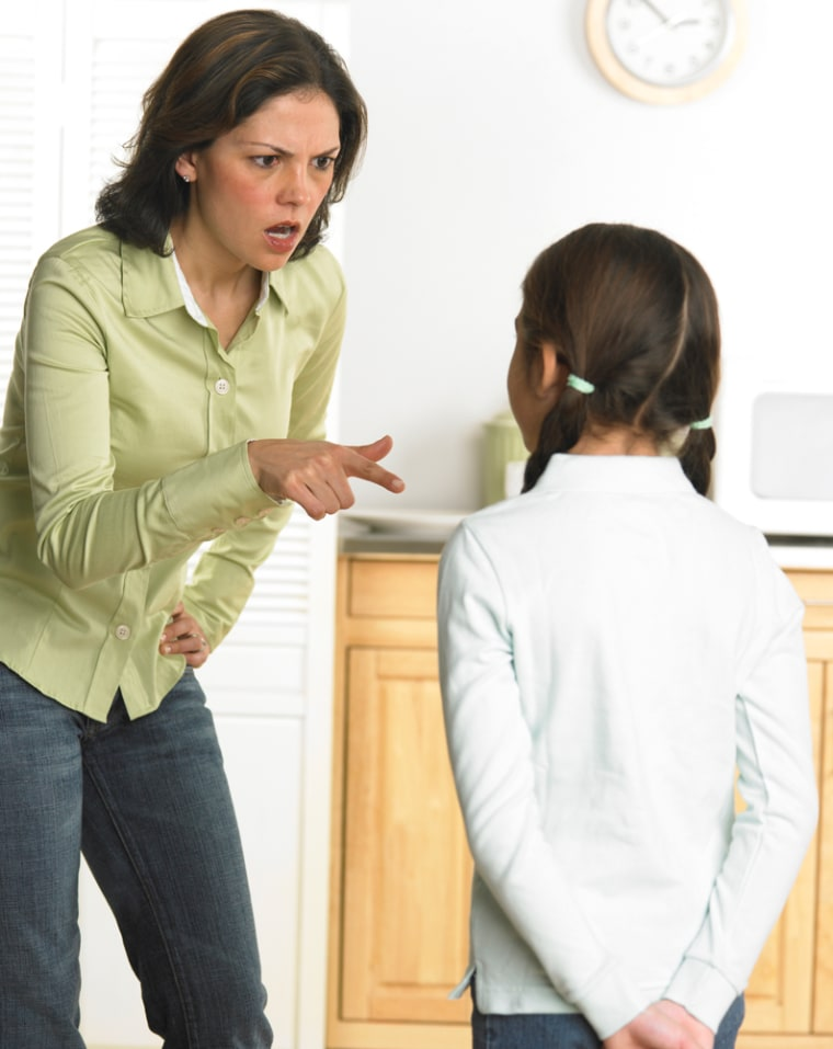 Research finds that 90 percent of parents yell at their kids.