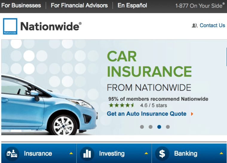 Nationwide has notified customers and those who contacted the insurance company for information about the security breach.