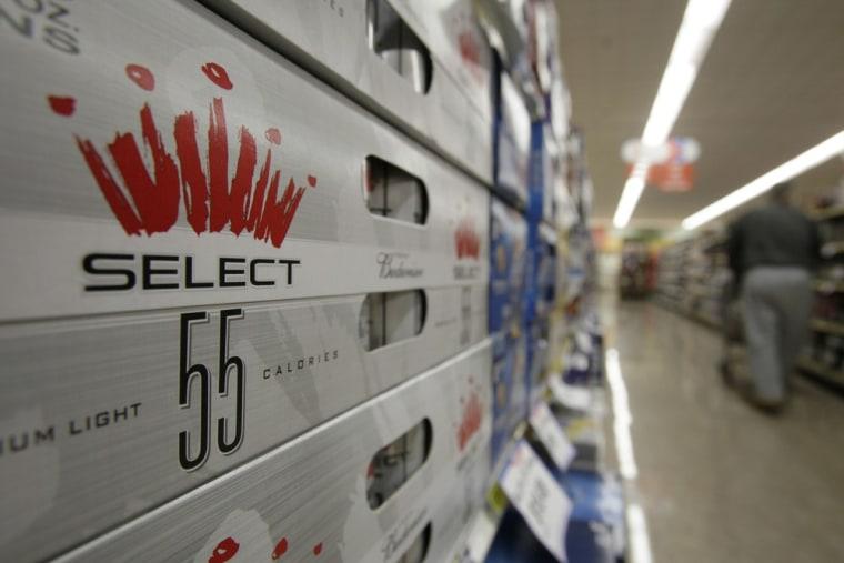 In 2009, Anheuser-Busch InBev also introduced Budweiser Select 55.