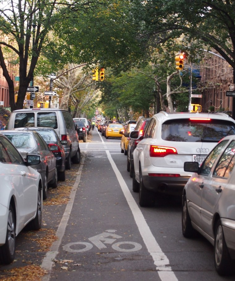 Small businesses in New York City near bike lanes have seen a boost in sales, according to a Department of Transportation report.