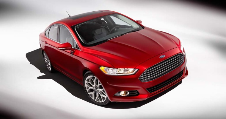 Image: Ford Fusion