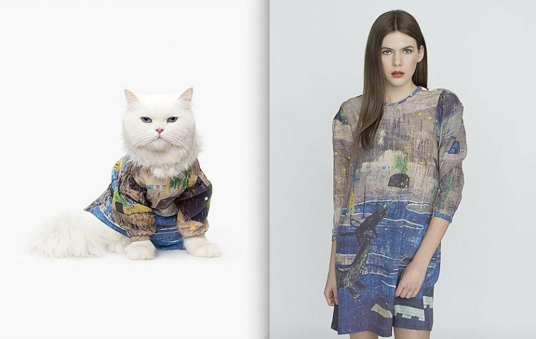 Purrrty pets: Dress like your cat — for $1,000
