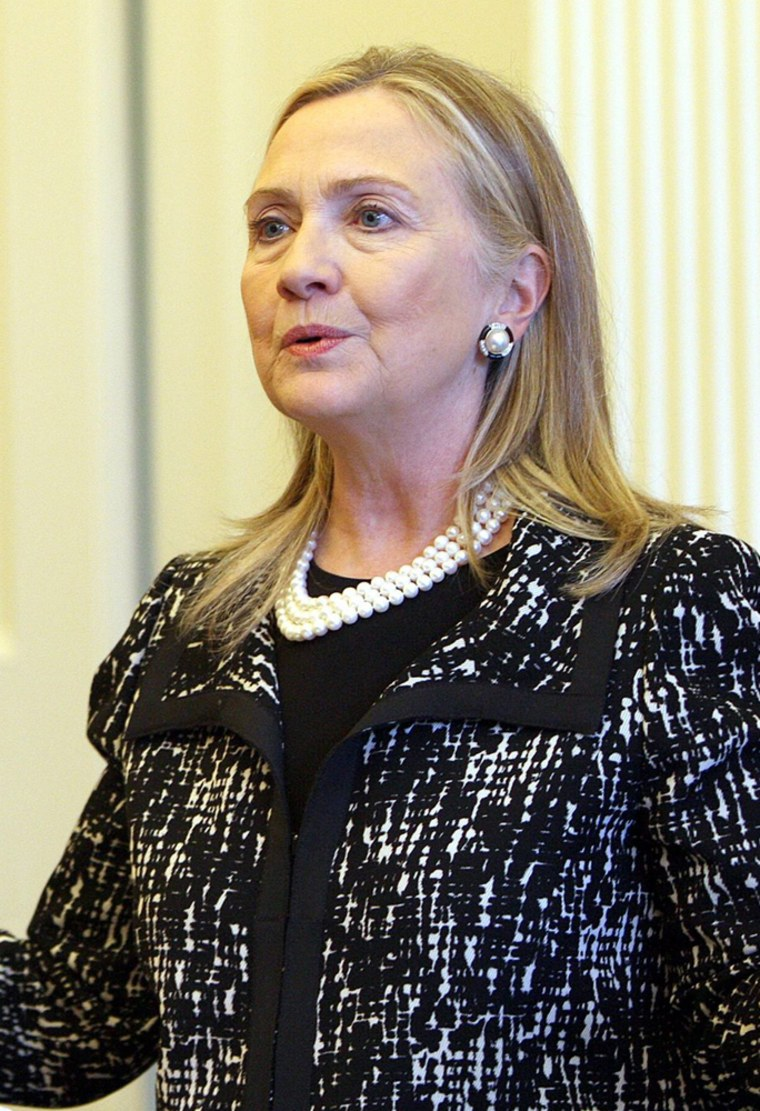 Hillary Clinton My Hair Is One Of The Great Fascinations Of Our Time