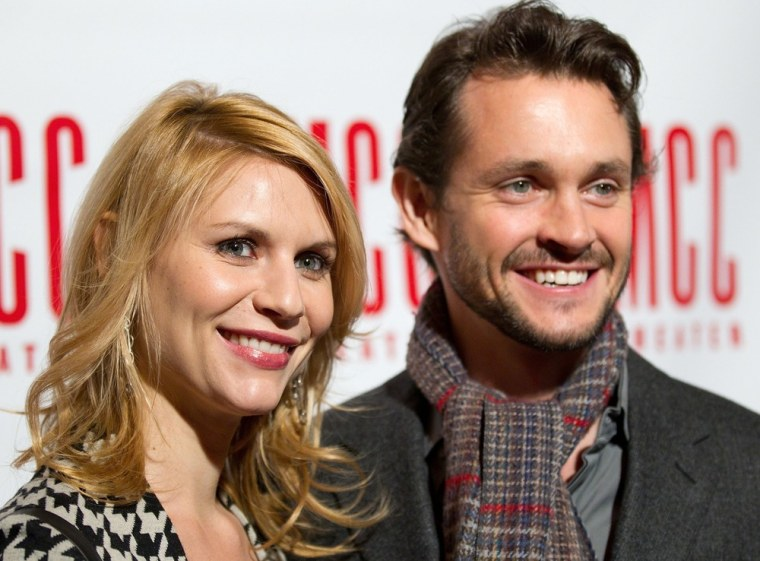 Claire Danes and Hugh Dancy welcomed baby boy Cyrus on Monday.