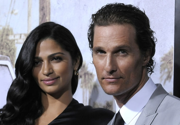 Matthew McConaughey and Camila Alves are parents again.