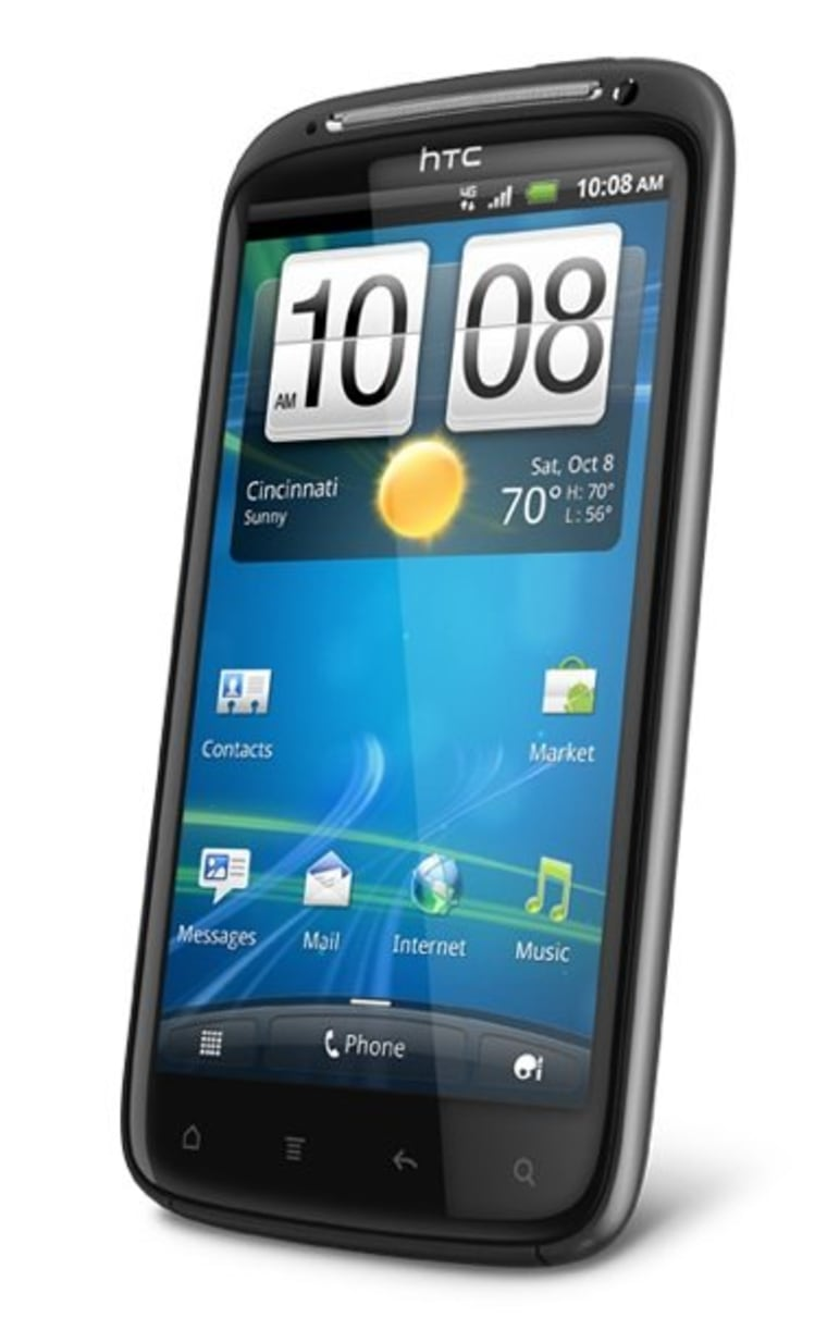 HTC Sensation, one of many smartphones that may cause you more stress than you realize