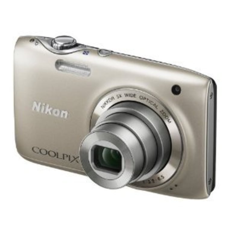 The Nikon Coolpix S3100 bests rivals with 5x optical zoom.