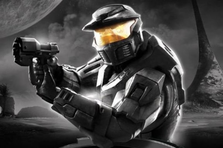 Thanks to Kinect, gamers will be able to control some of the Master Chief's actions with voice commands in the upcoming anniversary edition of