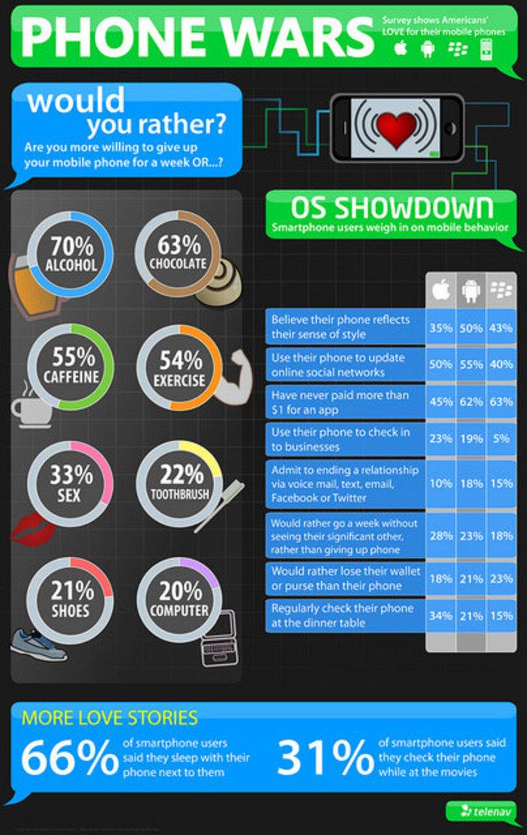The results of TeleNav's survey