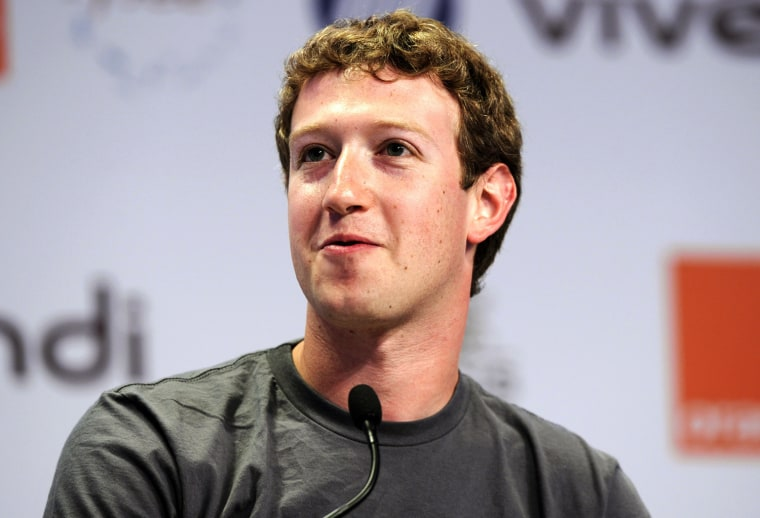 """Facebook founder and CEO Mark Zuckerberg attends the eG8 forum in Paris, in this May 25, 2011 file picture. Zuckerberg on June 2, 2011 said an alleged contract and emails that a New York man says entitle him to a huge stake in the social networking website are \""""forgeries.\"""" In a filing in the U.S. District Court in Buffalo, New York, on Thursday, Zuckerberg said he has declared under oath that he neither signed the alleged contract with Paul Ceglia, nor wrote or received any related emails. REUTERS/Gonzalo Fuentes/Files (FRANCE - Tags: BUSINESS POLITICS)"""