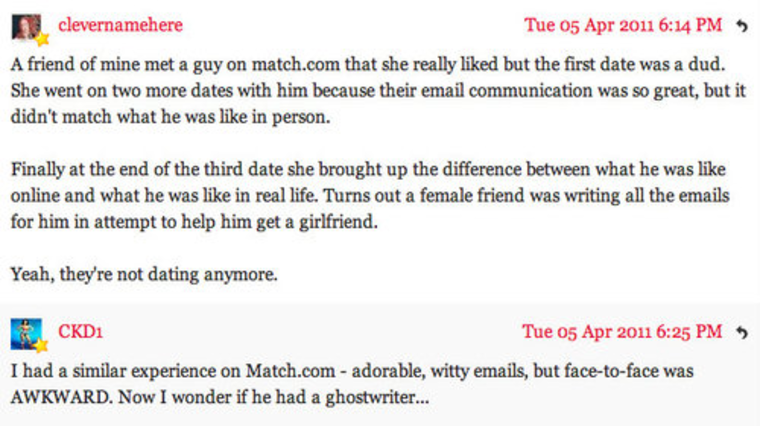 first online dating email to a woman