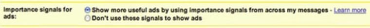 Once Google's new ad system begins rolling out, you'll have the ability to opt-out of it through your GMail settings.