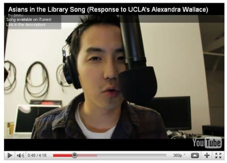 "Jimmy Wong's ""Asians in the Library Song"""