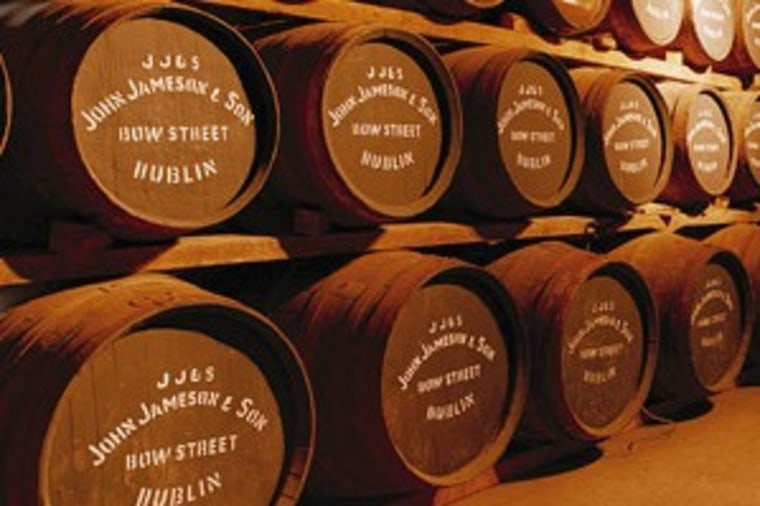 The modern-day Jameson Irish Whiskey distillery offers an hour-long tour takes guests through the entire process and ends with a signature Jameson drink.