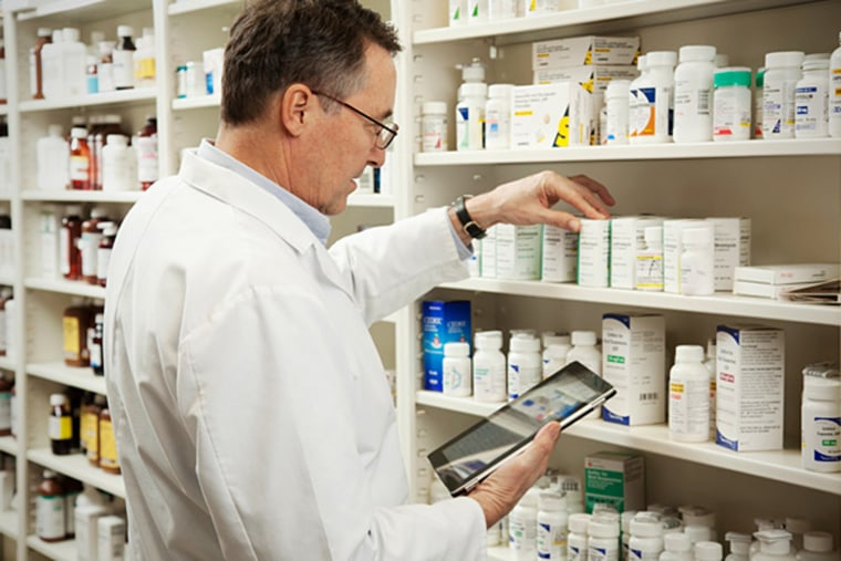 A pharmacist makes an average salary of $112,160.