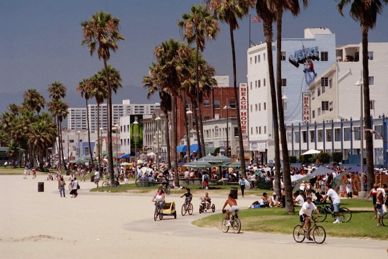 More than 16 million visitors a year are drawn to the street life at Venice Beach in California.